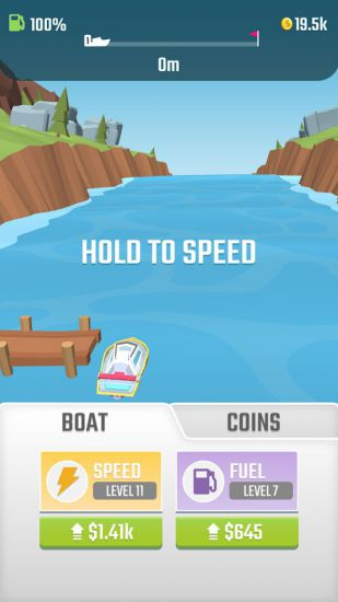 Flippy Boat - catching waves