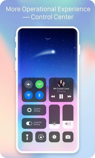X Launcher Pro - IOS Style Theme & Control Center