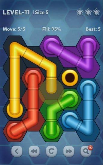Pipe Lines : Hexa