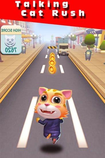 Говорящий кот Pet Run