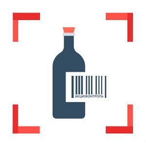Акциз Контроль: Сканер Алкоголя
