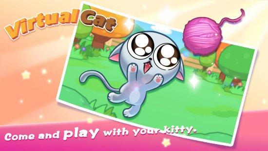 Виртуальный Китти - прекрасный котенок