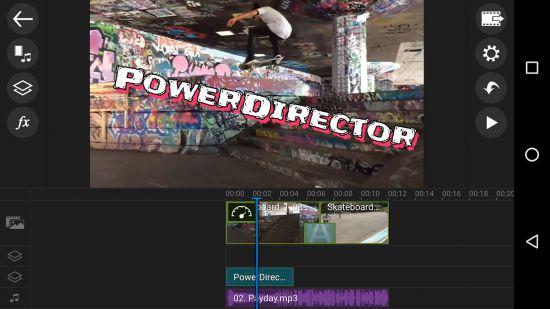 Видеоредактор PowerDirector