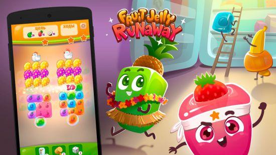Fruit Jelly Runaway