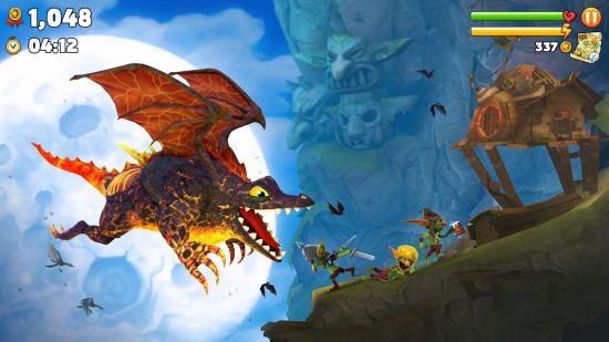 Hungry Dragon (взлом)