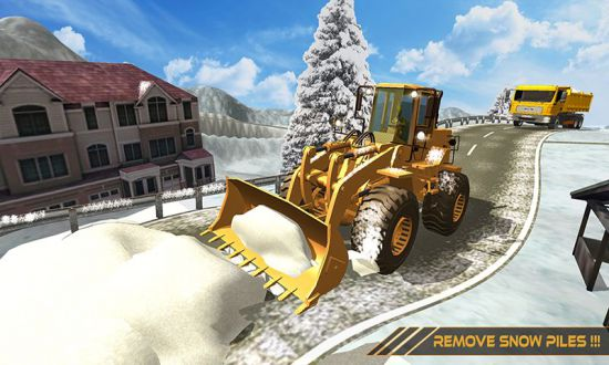 Grand Snow Excavator Machine Simulator 18