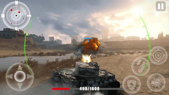 Заключительный Штурмовой Танк Блиц