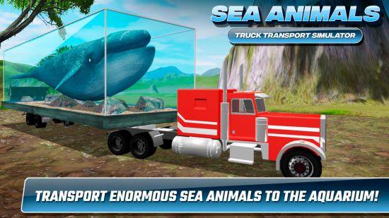 Sea Animals Truck Transport Simulator