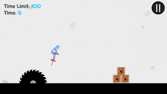 Stickman Pogo Destruction - Ragdoll Jump to Die