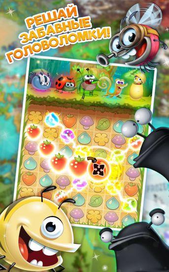 Best Fiends - Бесплатная игра-головоломка