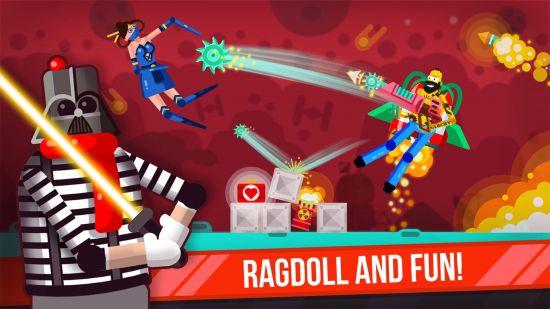 Ragdoll Rage: Heroes Arena (взломанная)