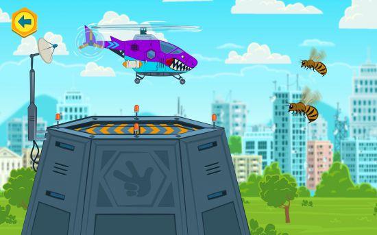 Фиксики: Мастера На Вертолёте!