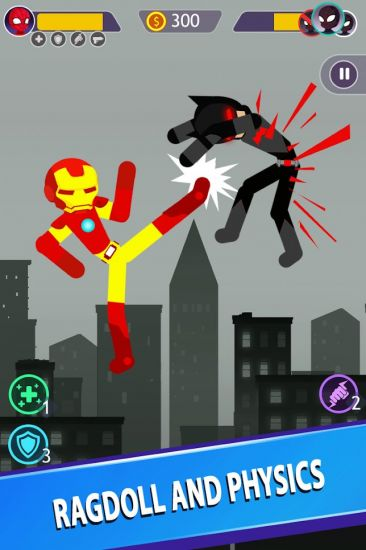 Stickman Battle: Super Shadow
